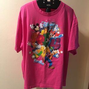 Plus 3X Disney Bright Pink 2014 T-Shirt